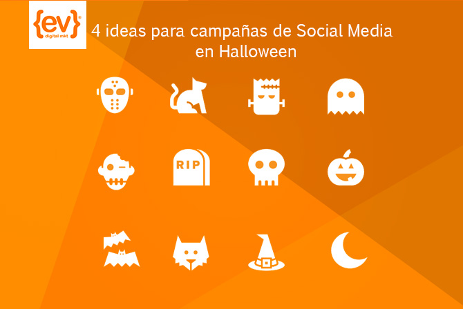 4 ideas para campañas de social media en halloween